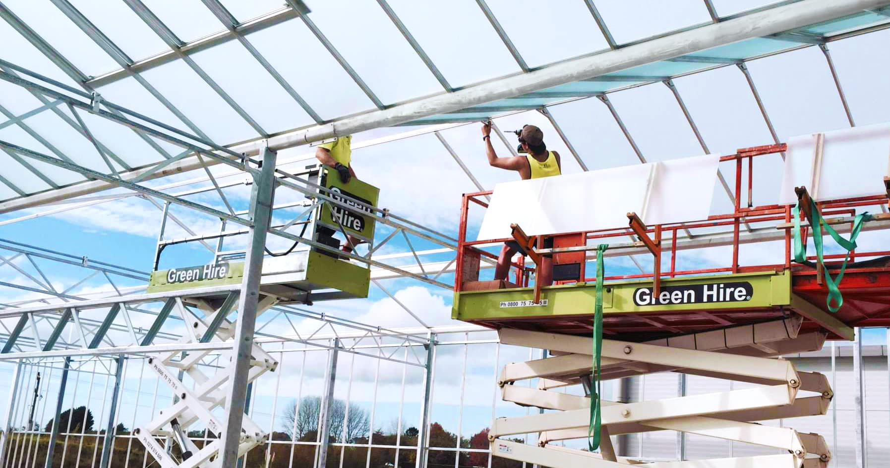 Commercial Greenhouses Builders
