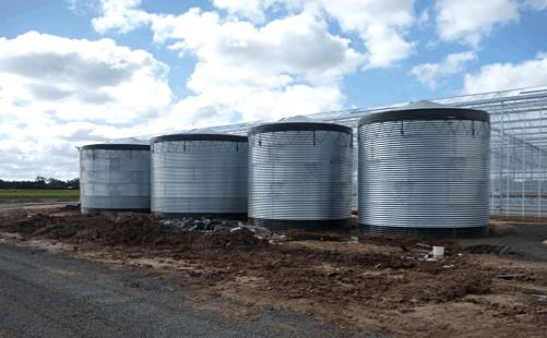 Greenhouse Water Tanks
